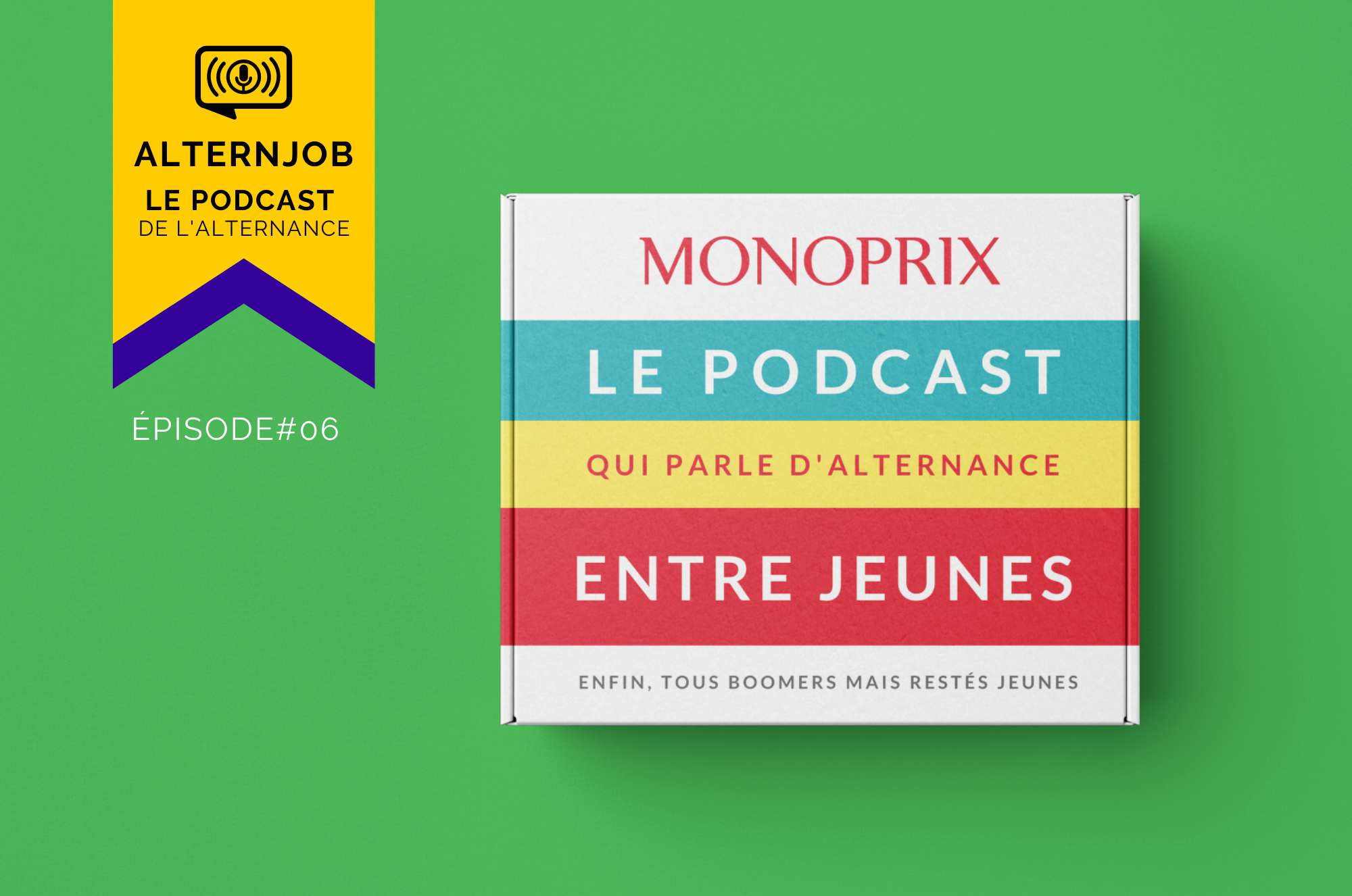 AlternJob, le podcast de l'alternance